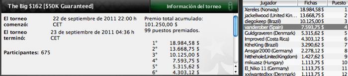 Resumen del 19.º día del World Championship of Online Poker 2011 101