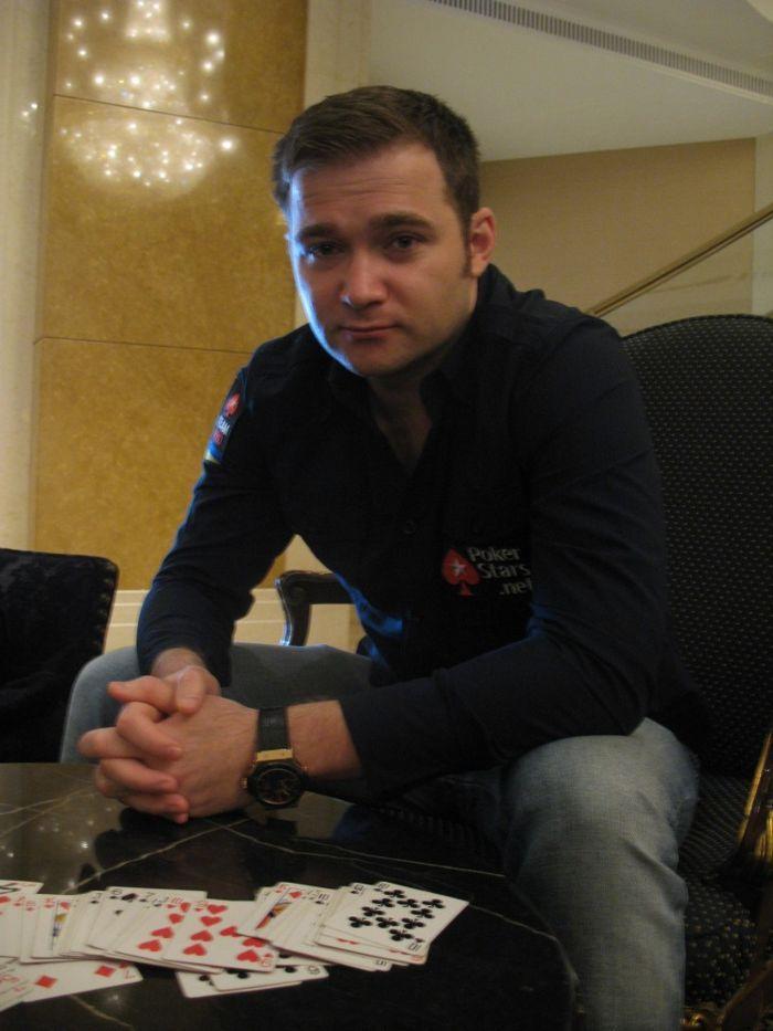 Евгений Качалов во время своего визита в Киев.