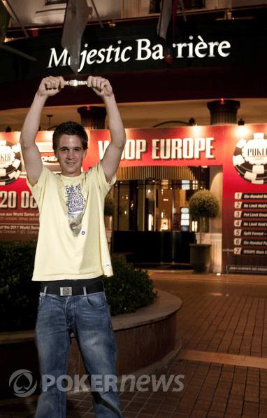 Pirmasis šių metų WSOPE čempionas