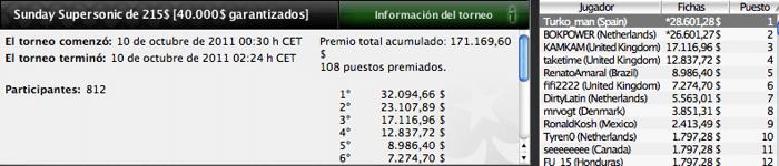Pinchazos de los jugadores españoles en PokerStars 101
