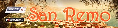 EPT SAN REMO директни репортажи от PokerNews