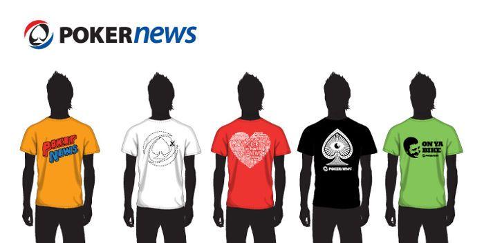 Fizess be 21:00 óráig a Poker770-re a PokerNews oldalán keresztül és válassz pólóink közül!