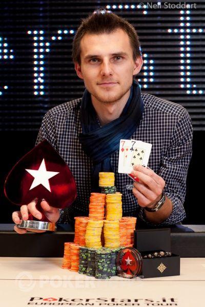Vítěz Andrey Pateychuk