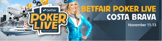 Siste kvalifisering til Betfair Poker Live! Costa Brava 101
