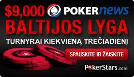 Prisijunkite prie PokerStars ,000 Baltijos lygos šįvakar 101