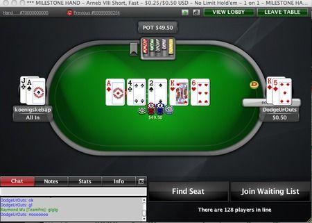 PokerStars entrega la mano 70 mil millones 102
