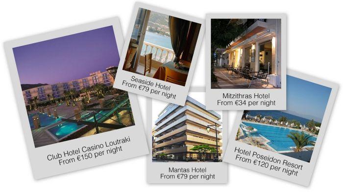 PokerNews útikönyv: Loutraki - Görögország 101