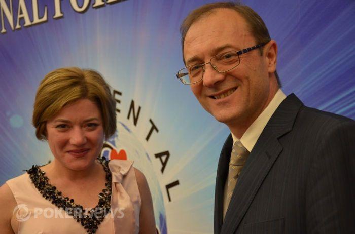 glavni menadžer i direktor CPS - Karina Shvarts i Stasko Stibilj