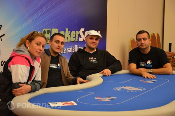 Ekipa Balkan.PokerNews - Alex, Ljube, Milan, Toša