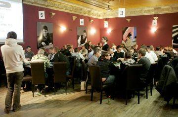 Pirmojo Lietuvoje sportinio pokerio klubo atidarymo proga čia įvyko didžiausias iki tol LSPT etapas.