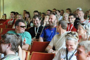 LSPF stovykla išsiskyrė pokerio psichologijos seminaru, kurį vedė žymus psichologas Olegas Lapinas.
