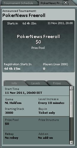 €1,400 PokerNews фрийролът на 11 ноември ще ви класира за... 101