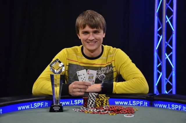 Lietuvos čempionas Tomas Beržinskas