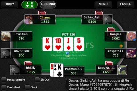 PokerStars пусна мобилен клиент за италианските играчи 104
