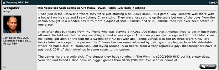 """""""Webjoker"""": A Patrik Anotius no le dejaron participar en los juegos del Starworld casino 101"""
