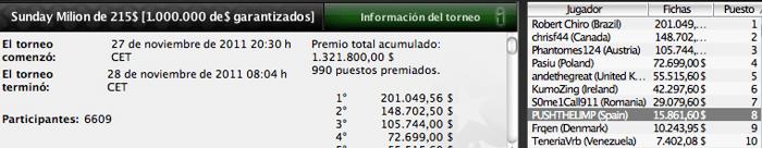 Una vez más, los españoles dejan huella en PokerStars 102