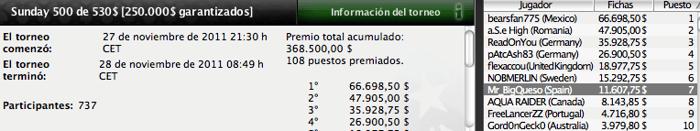 Una vez más, los españoles dejan huella en PokerStars 103