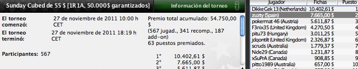 Una vez más, los españoles dejan huella en PokerStars 105