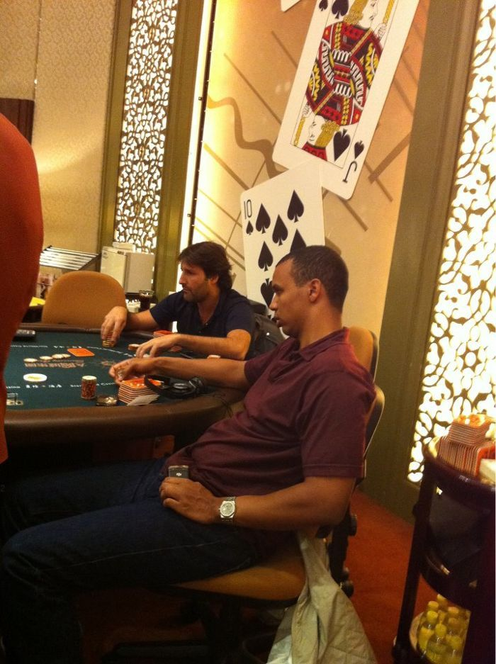 Phil Ivey in Macau. Picture courtesy of the Poker King Club.