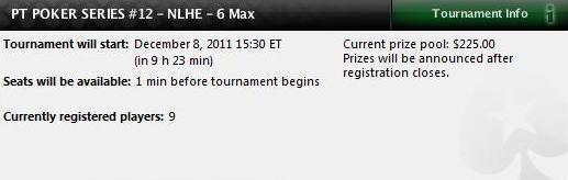 PT Poker Series 2011 - Evento #12 NHLE 6-Max hoje à noite 102