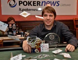 Turnyro nugalėtojas Darius Stankevičius
