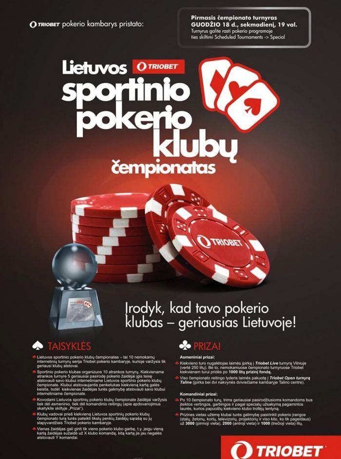 Lietuvos sportinio pokerio klubų čempionate – 24 komandos ir 5,000 žaidėjų! 101