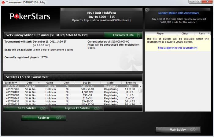Neprošvihněte akce na PokerStars 101
