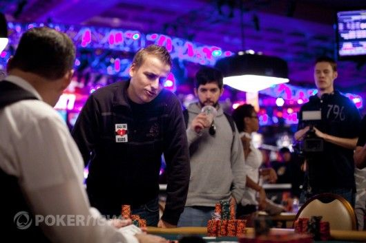 Phillipas Gruissemas vėlyvoje WSOP pagrindinio turnyro fazėje