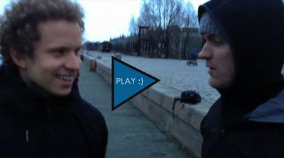 Peter Eastgate Uskače u Ledene Vode Danske - Video 101