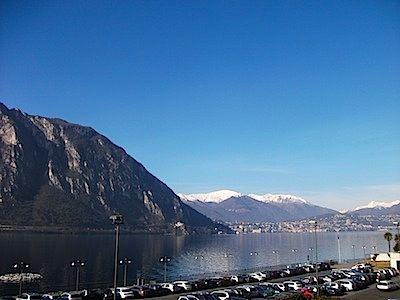 EPT lankysis nuostabaus Lugano ežero pakrantėje
