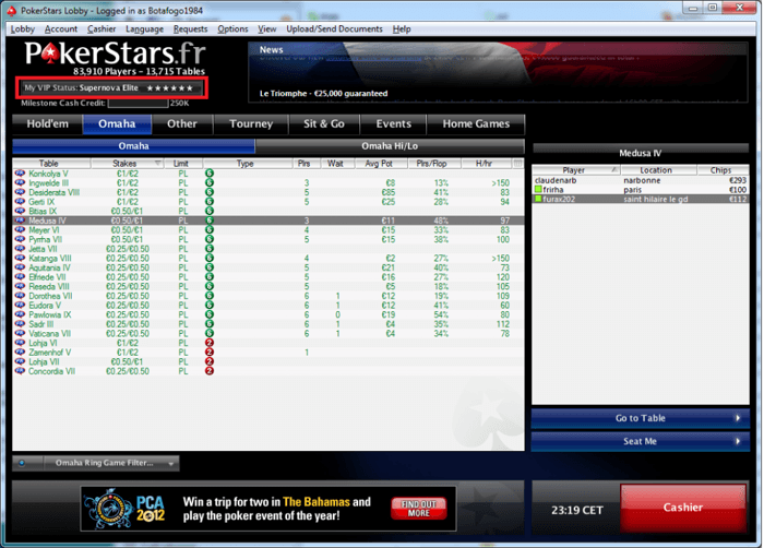 PokerStars.fr Supernova Elite