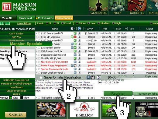 Mansion Poker Super Omaha Race 102
