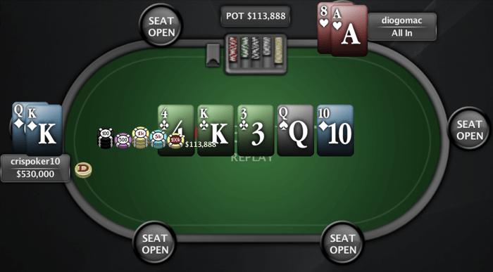Crispoker10 vence mais uma etapa do PT Poker Series 101