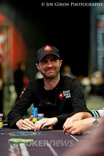 PokerStars Pro komandos narys Arnaudas Matternas dieną baigė tarp lyderių