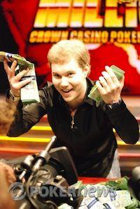 2008 Aussie Millions Champion Alexander Kostritsyn
