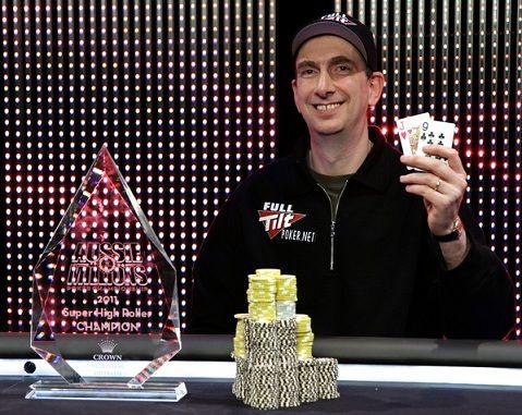 Eriko Seidelio laimėjimai šiai dienai siekia $16,885,167