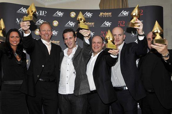 Europos pokerio apdovanojimai rengiami jau 11 metų
