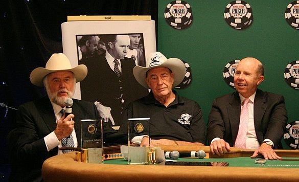 Pokerio ikonų pagerbimas