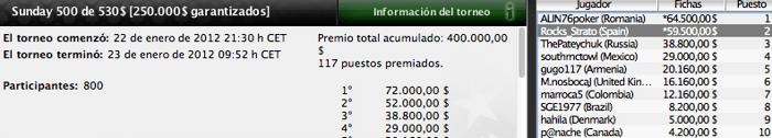 Los jugadores españoles vuelven a dejar huella en los majors de PokerStars 101