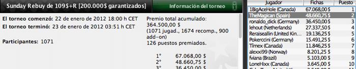 Los jugadores españoles vuelven a dejar huella en los majors de PokerStars 102