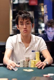 Finalinio stalo žetonų lyderis - Bjorn Li.