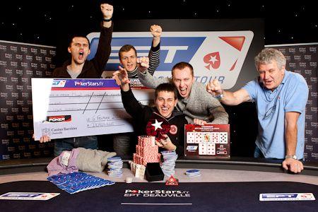 """PokerStars.fr EPT Deauville: Vadzim """"VadziMoney"""" Kursevich wint €875.000 102"""