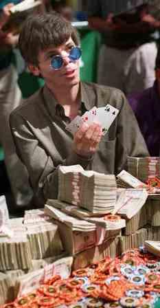 Stu Ungaras trečio WSOP čempiono titulo nebūtų iškovojęs be investicijos