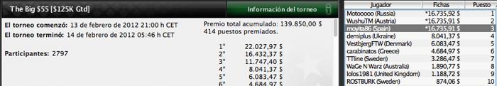 Los gladiadores españoles vuelven a triunfar en PokerStars 101