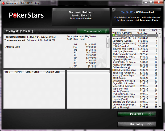 ani1710a PokerStars The Big $11