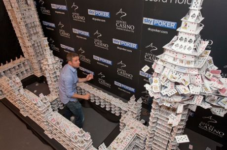"Soccer AM Presenter Max Rushden Demolishes ""Cardstacker's"" Creation 102"