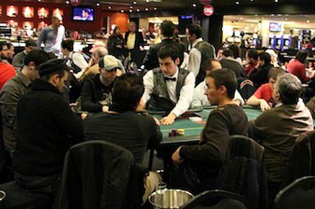Detalle de la poker room del Gran Casino Barcelona