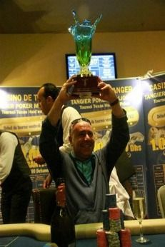 Gilles Haddad se sube al podio tras disputar el Tanger Poker Million VII 101