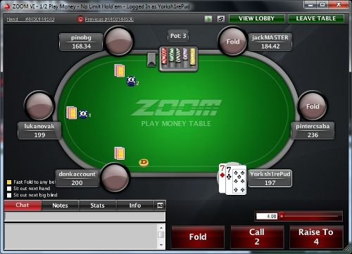 A Review of PokerStars' Zoom Poker 102