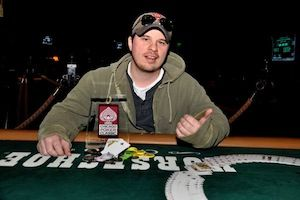 Kevin McColgan, winner of Event #6